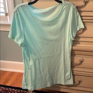 Sea foam colored T-shirt